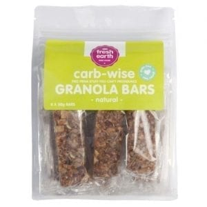 Granola Bar Carb Wise Natural